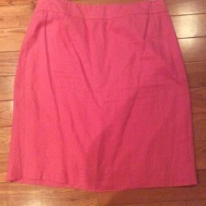 J.Crew Linen Pencil skirt sz 12